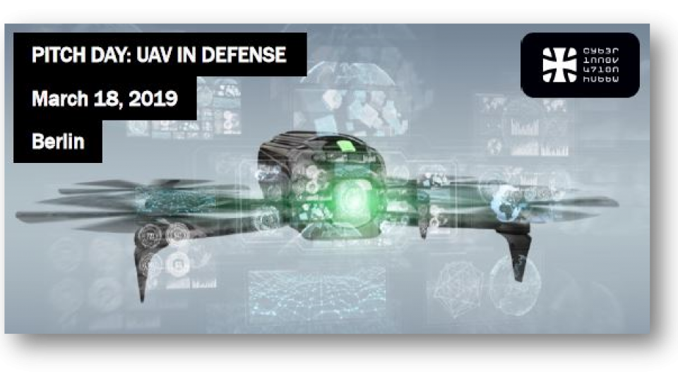 Agenda Pitch Day UAV Defense 18 March 2019, Berlin