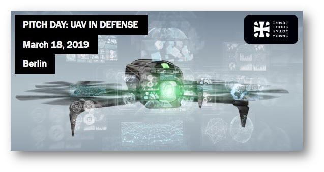 Agenda Pitch Day UAV Defense 18 March 2019, Berlin